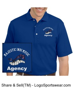 Majestic INDI Music Agency POLO Shirts Design Zoom